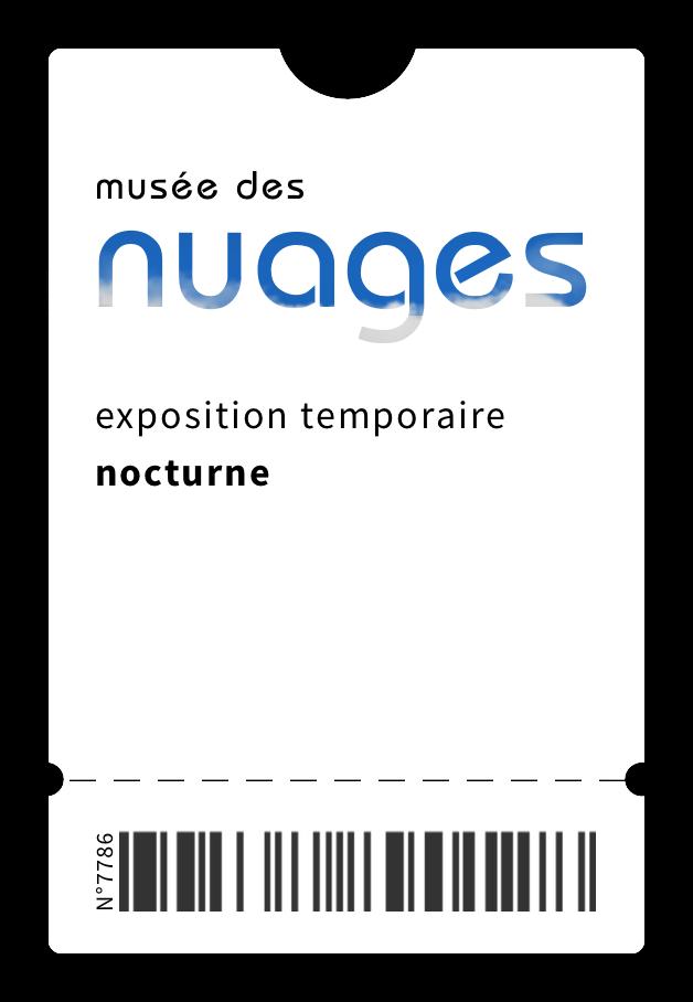 Ticket de musée
